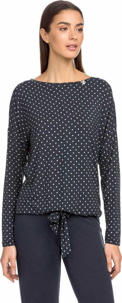 Dámske pyžamo 15068 - 572 tmavo modrá s bodkami - Vamp tmavo modrá XL