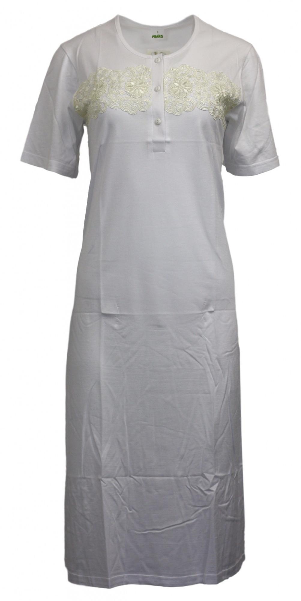Dámská noční košile F1032 - Prako bílá S