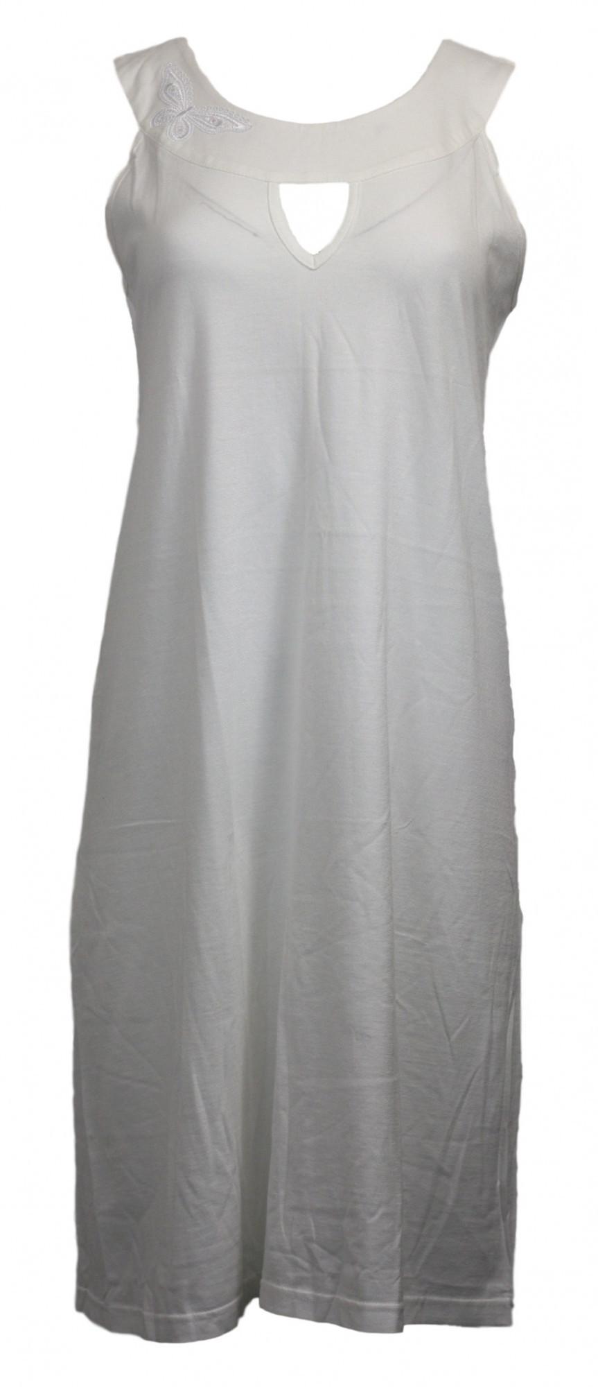 Dámská noční košile F1071 - Prako smetanová S