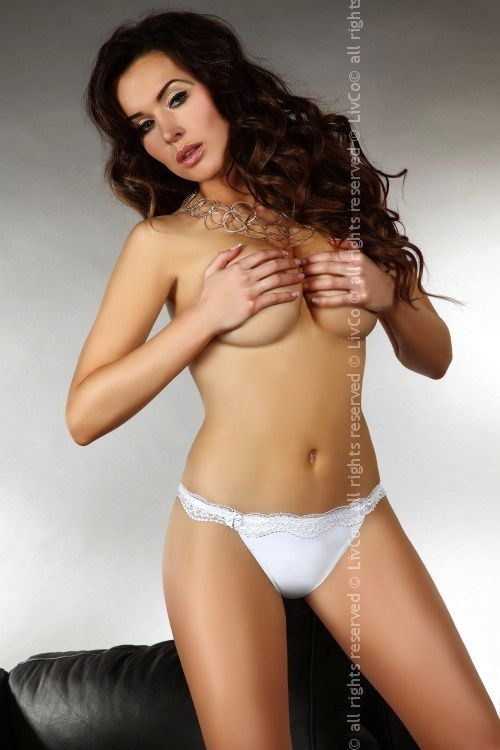 Kalhotky Shizu - Livia Corsetti Barva: bílá, Velikost: XL