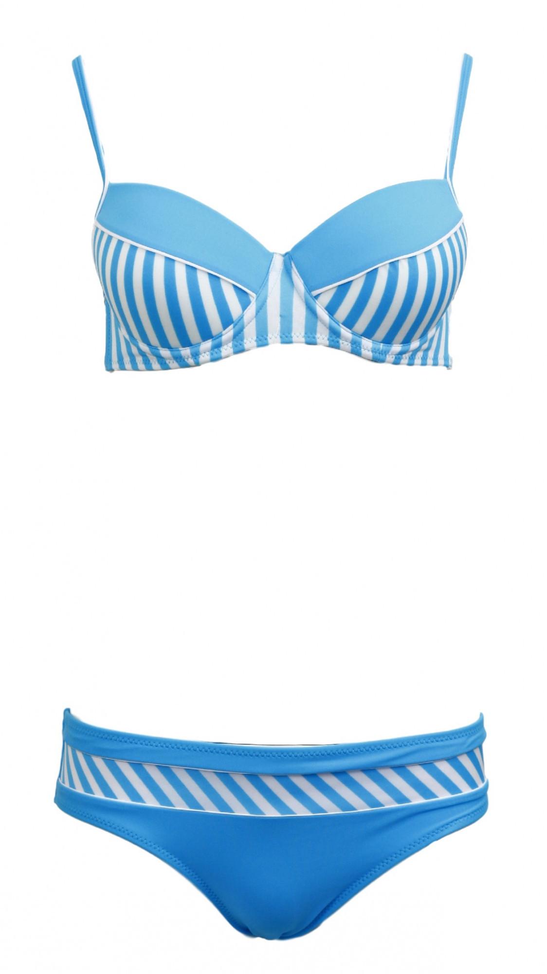 Dámské plavky dvoudílné Brooke M-225 - Marko modro-bílá S f97dd4f297