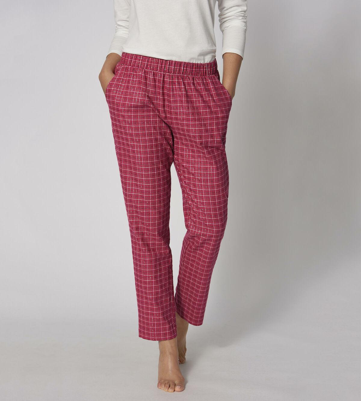 Dámske pyžamové nohavice Mix & Match Tapered Trouser Flannel - Triumph 2370 036