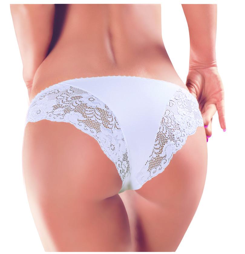 Dámské kalhotky N065 - EWANA bílá S