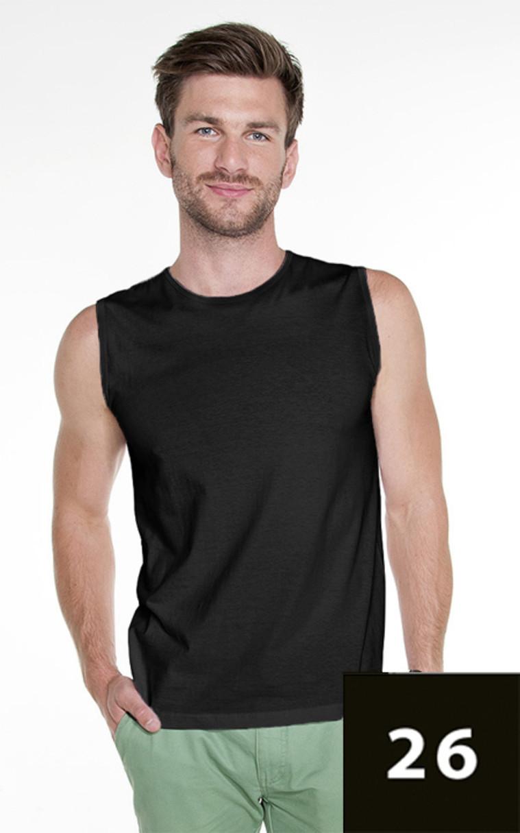Pánske tričko bez rukávov M SHORT 21340 - Promostars tmavě modrá 2XL