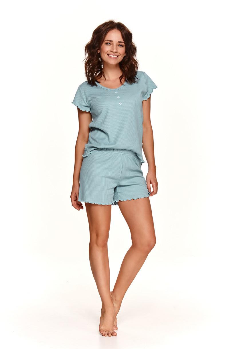 Dámske pyžamo 2528 ZOJA S-XL ZIELONY L
