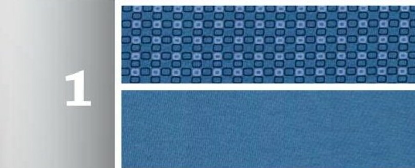Pánske pyžamo 265 Modrá M