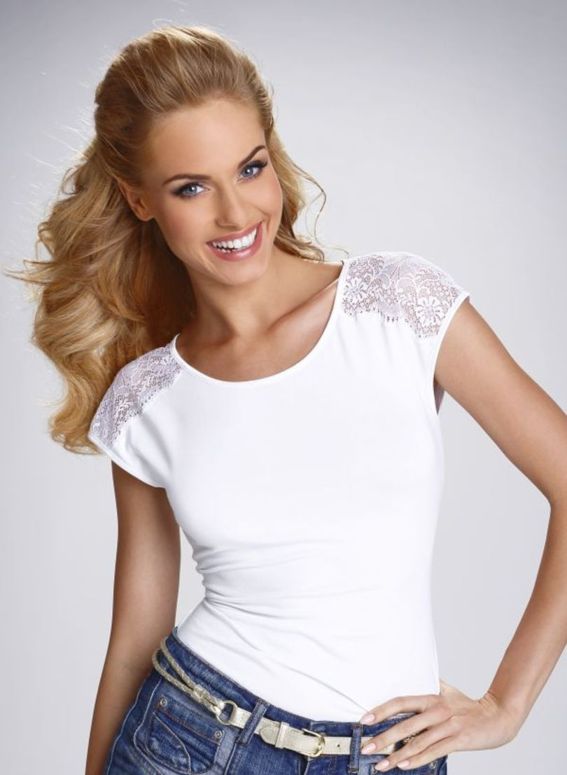Dámské tričko ACTIVE TOSCA - ELDAR bílá XL