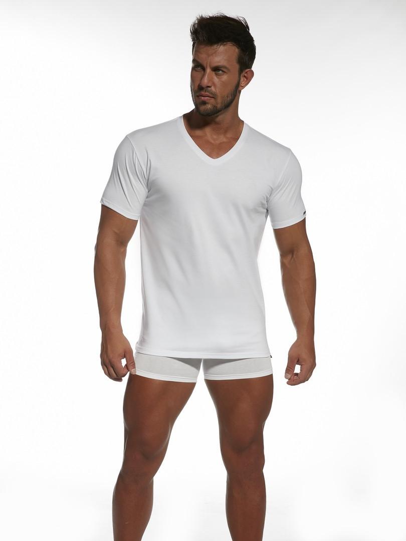 Pánske tričko AUTHENTIC 201NEW - Cornet bílá XL