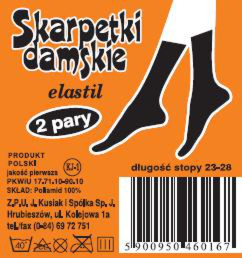 Dámské ponožky ELASTIL šedá