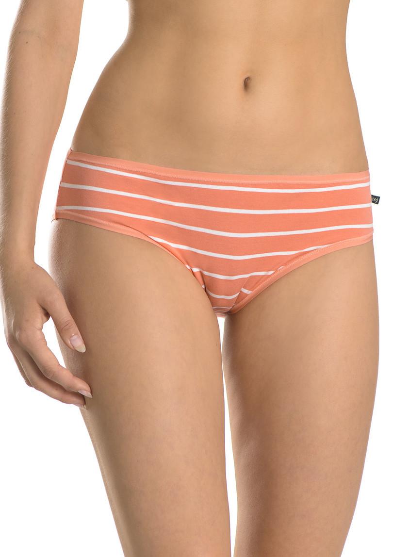 Dámské kalhotky LPR 306 A8 - KEY barva: modrá-korálová, velikost: M