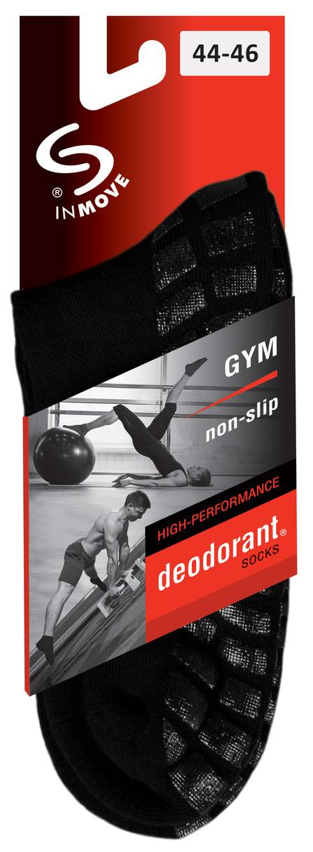 8f45d6567ad Protiskluzové ponožky GYM NON-SLIP - JJW INMOVE barva  černá