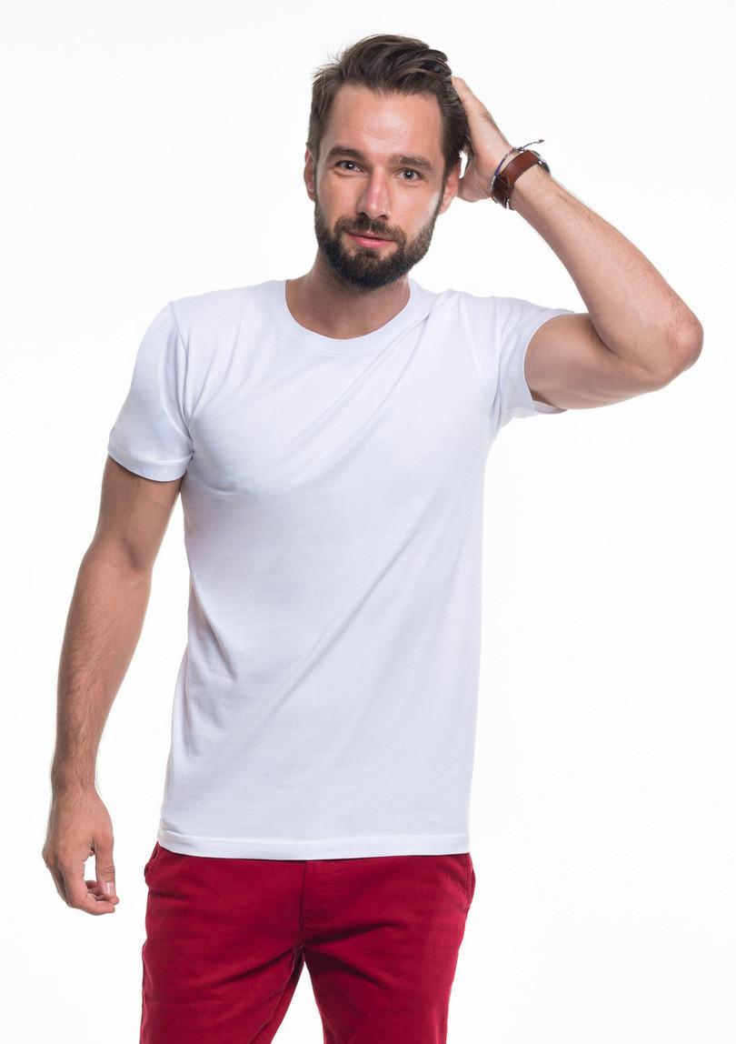 Pánske tričkoT-shirt Heavy Slim 21174-20 - Promostars bílá XXL