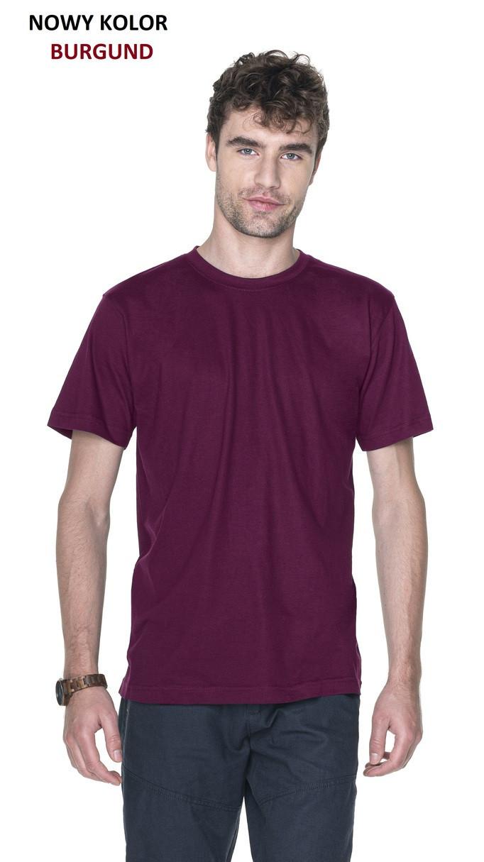 Pánske tričko T-shirt Heavy Slim 21174 - Promostars tmavě modrá žíhaná M