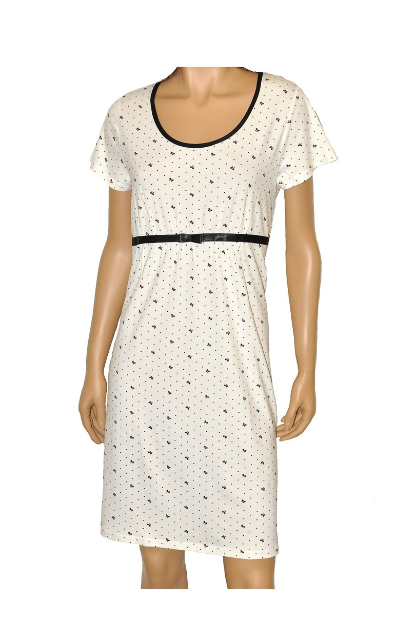 Dámská noční košilka JULIETTE 365 - DE LAFENSE barva: růžová, velikost: M