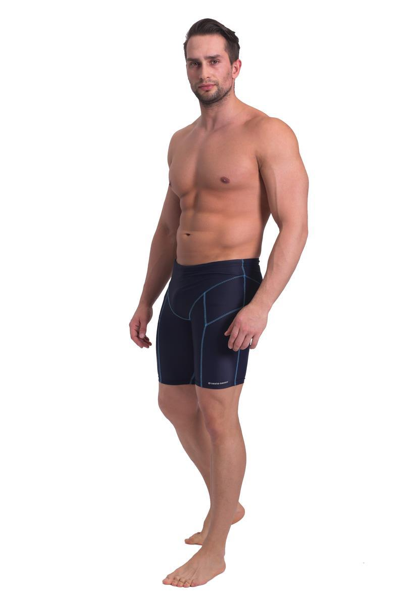 Pánské plavky - boxerky BD 377 - SESTO SENSO černá M