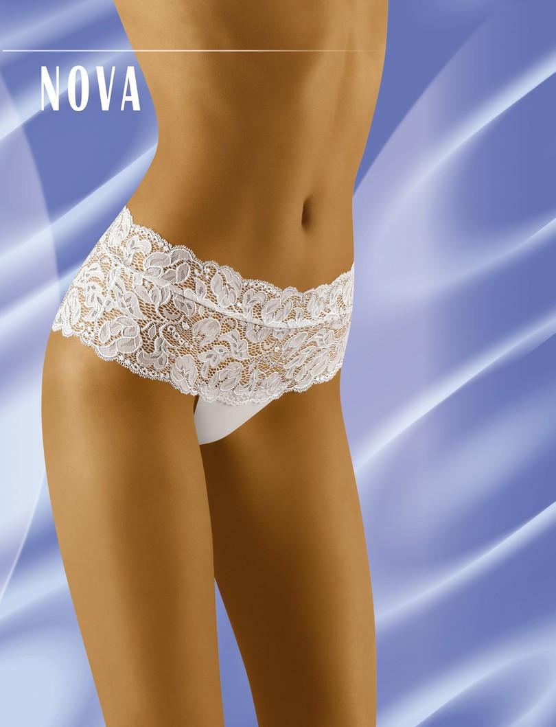 Dámske nohavičky NOVA bílá XL