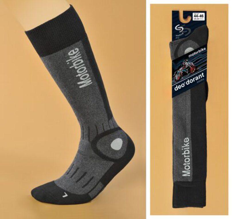 Ponožky Motorbike Deo - JJW INMOVE antracit 38-40
