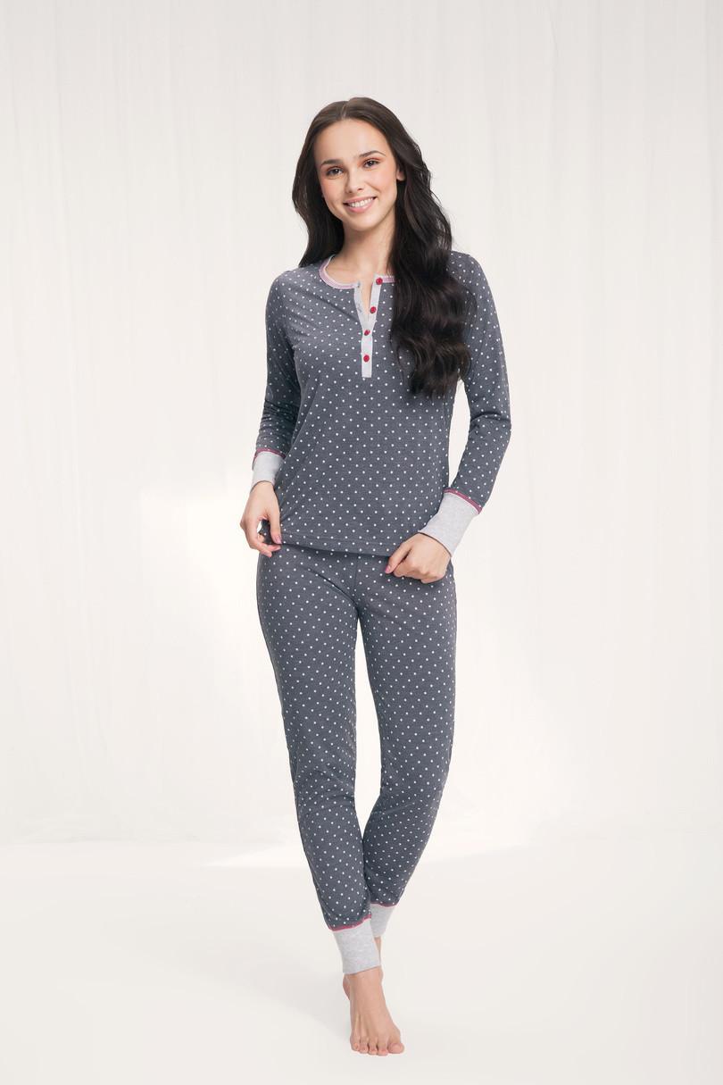 Dámske pyžamo 489 hvězdy XL
