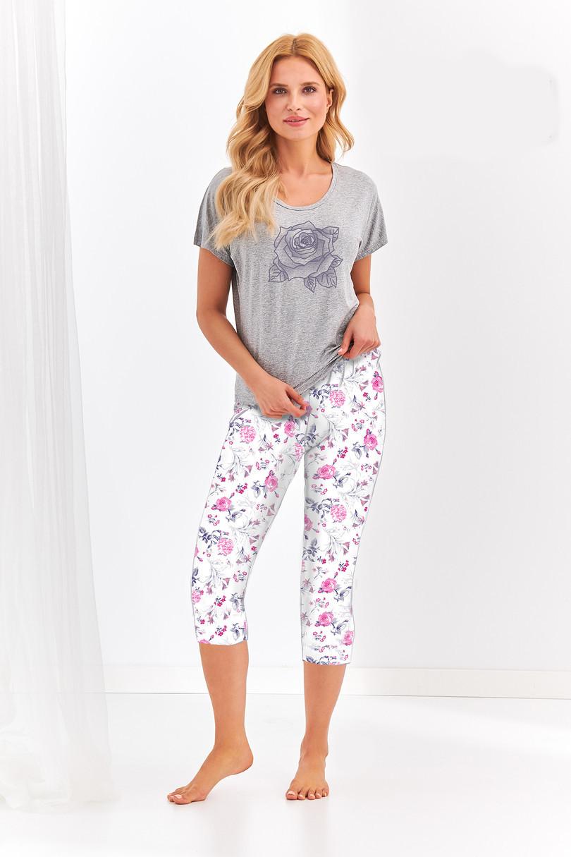 Dámske pyžamo 2298 BETTY S-XL (viskóza) šedá S