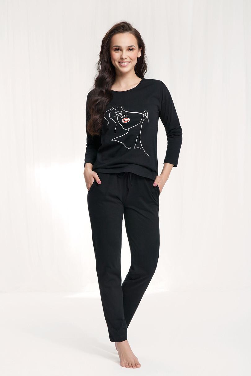 Dámske pyžamo 521 černá XL