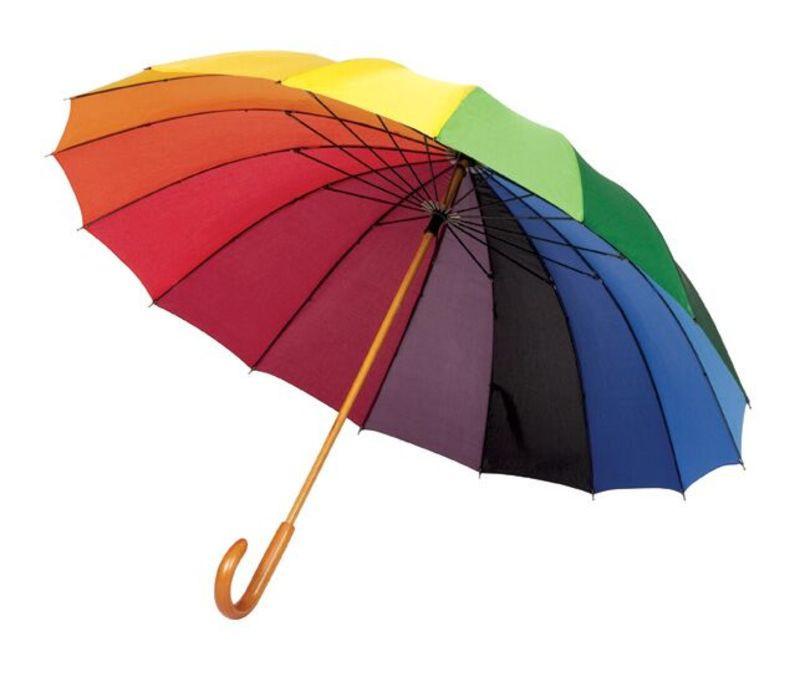 Deštník DM160 duhová