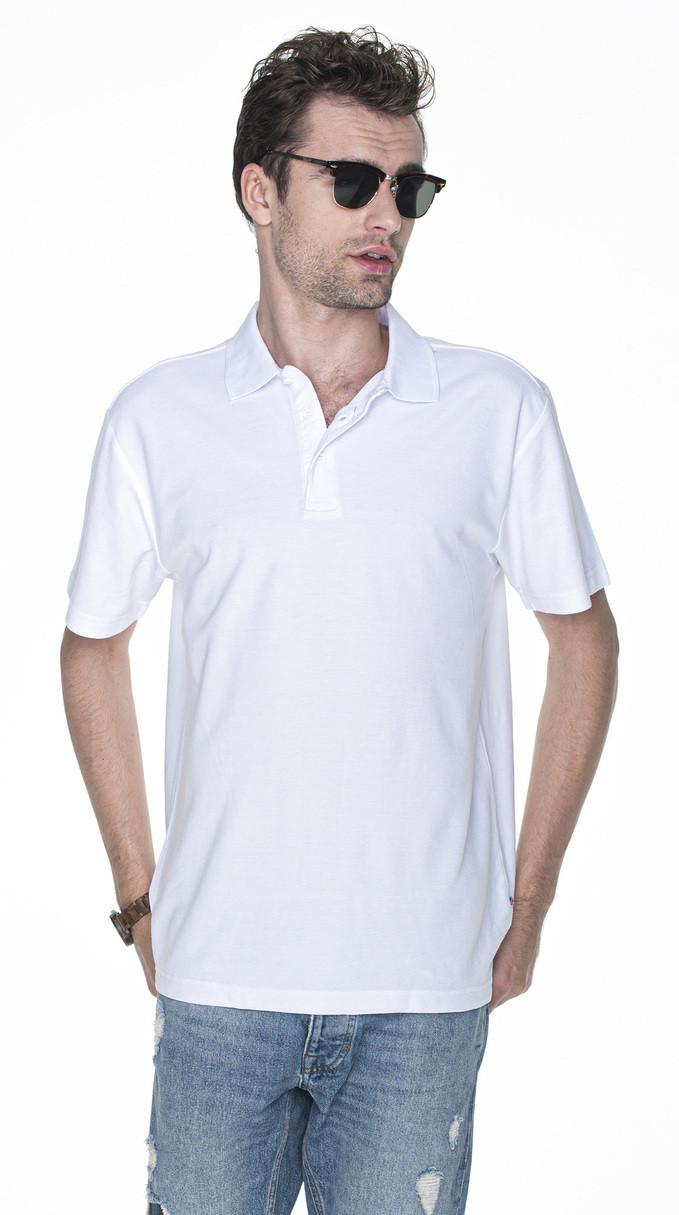 Pánske tričko POLO M POLO HEAVY 42180 bílá L