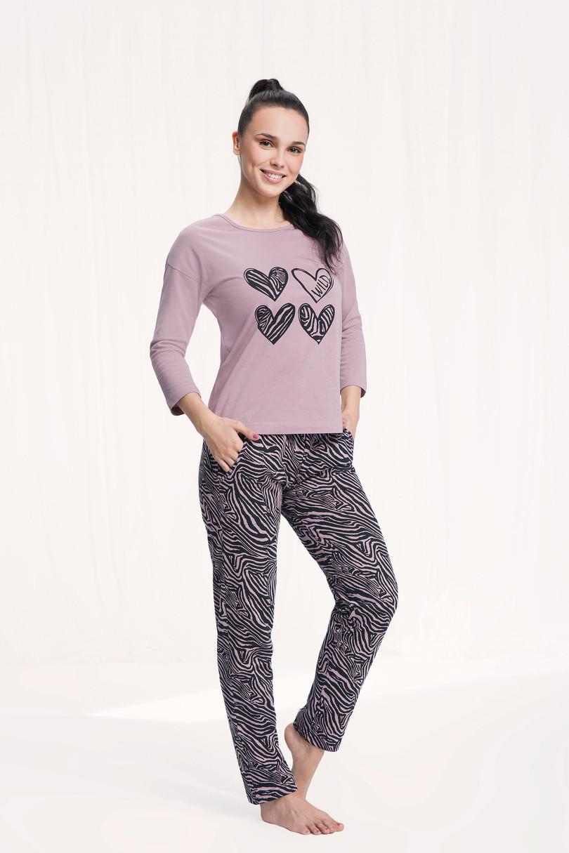 Dámske pyžamo - 565 CAPPUCCINO XL
