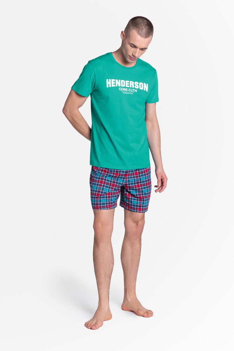 Pánske pyžamo LID 38874 zelená XXL