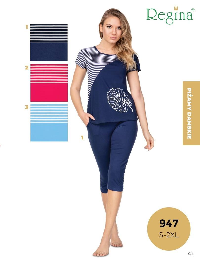 Dámske pyžamo 947 MALINA S