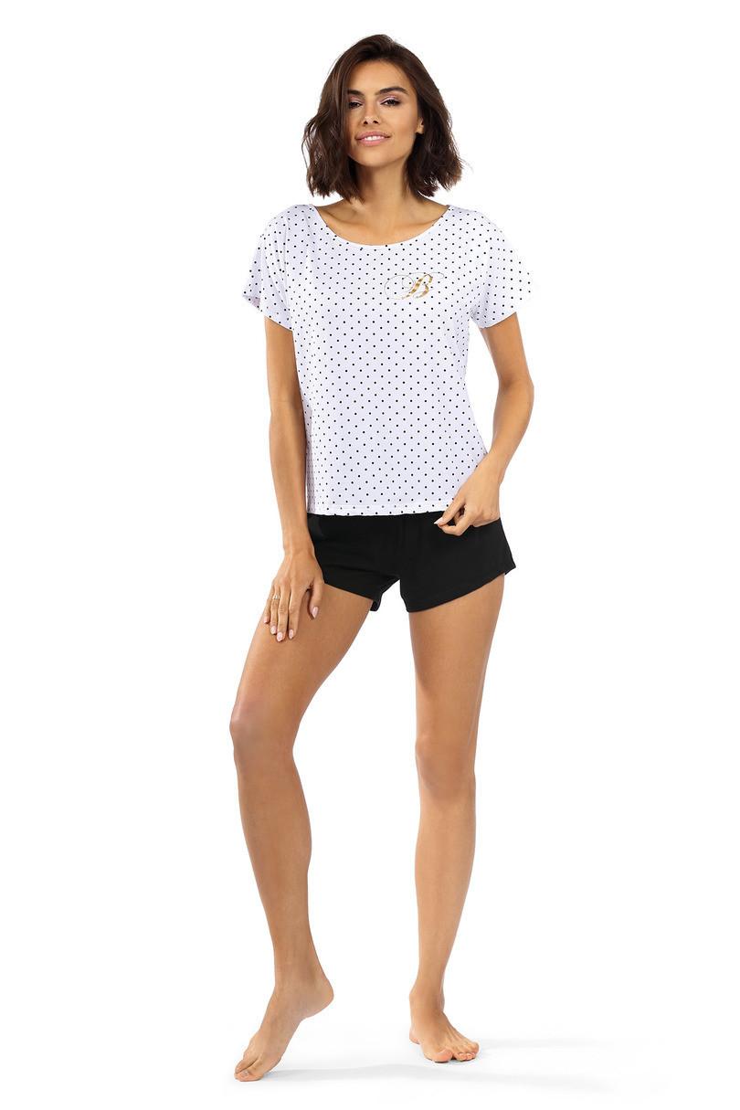 Dámske pyžamo P-1522 bílá 44