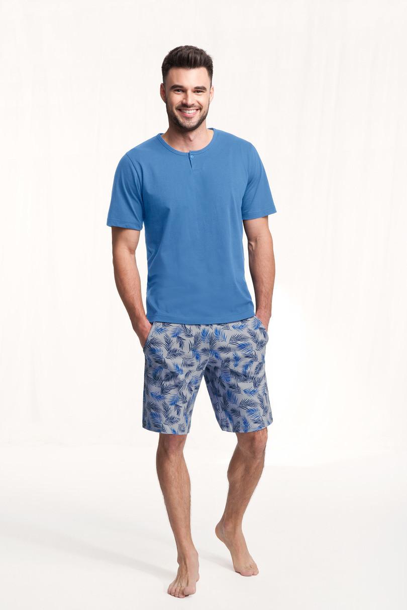 Pánske pyžamo 730 modrá XXL