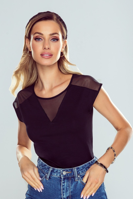 Dámská košilka ALESSIA ACTIVE CZARNY M