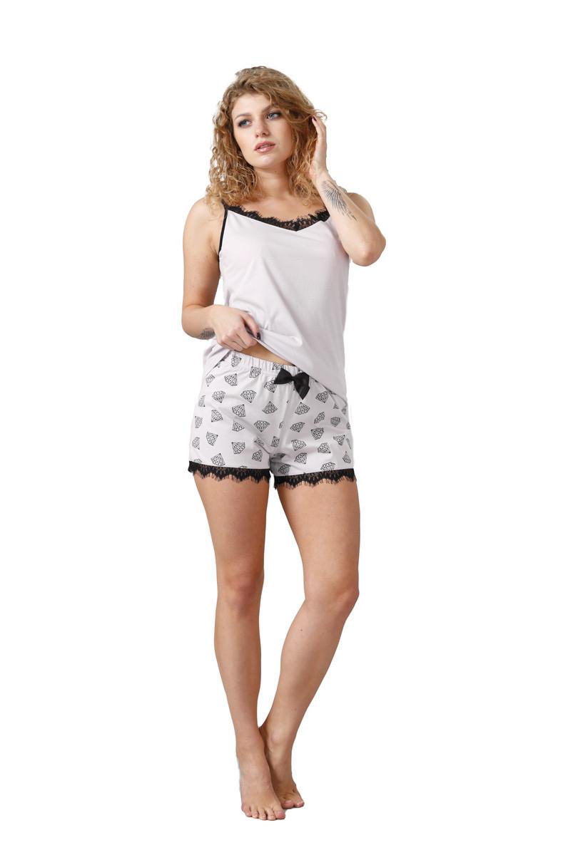 Dámske pyžamo ZEKA 1035 liliová M