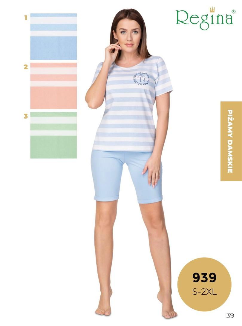 Dámske pyžamo 939 RÓŻOWY S