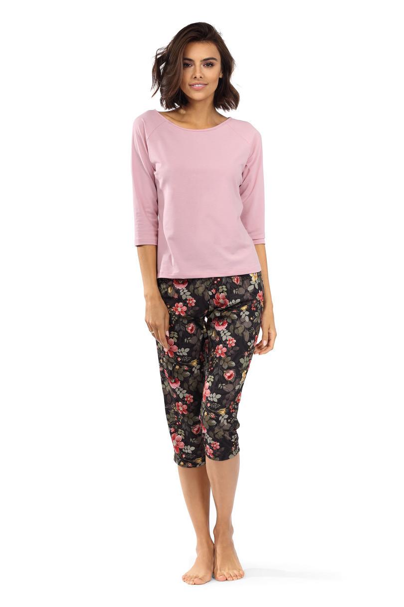 Dámske pyžamo P-1516 pudrově růžová 44