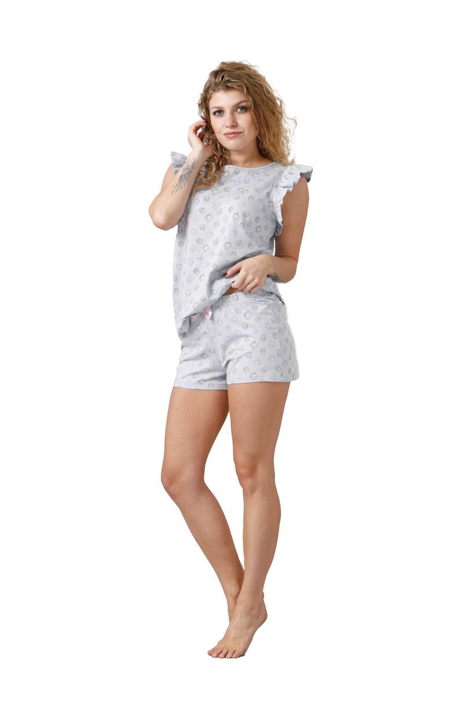 Dámske pyžamo NITA 1013 šedá M