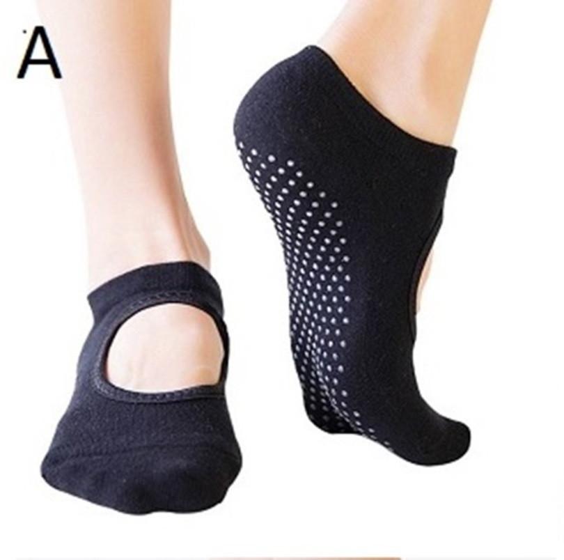 Hladké ponožky - na jogu