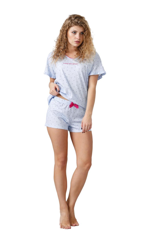 Dámske pyžamo NEMELIA 1042 modrá M