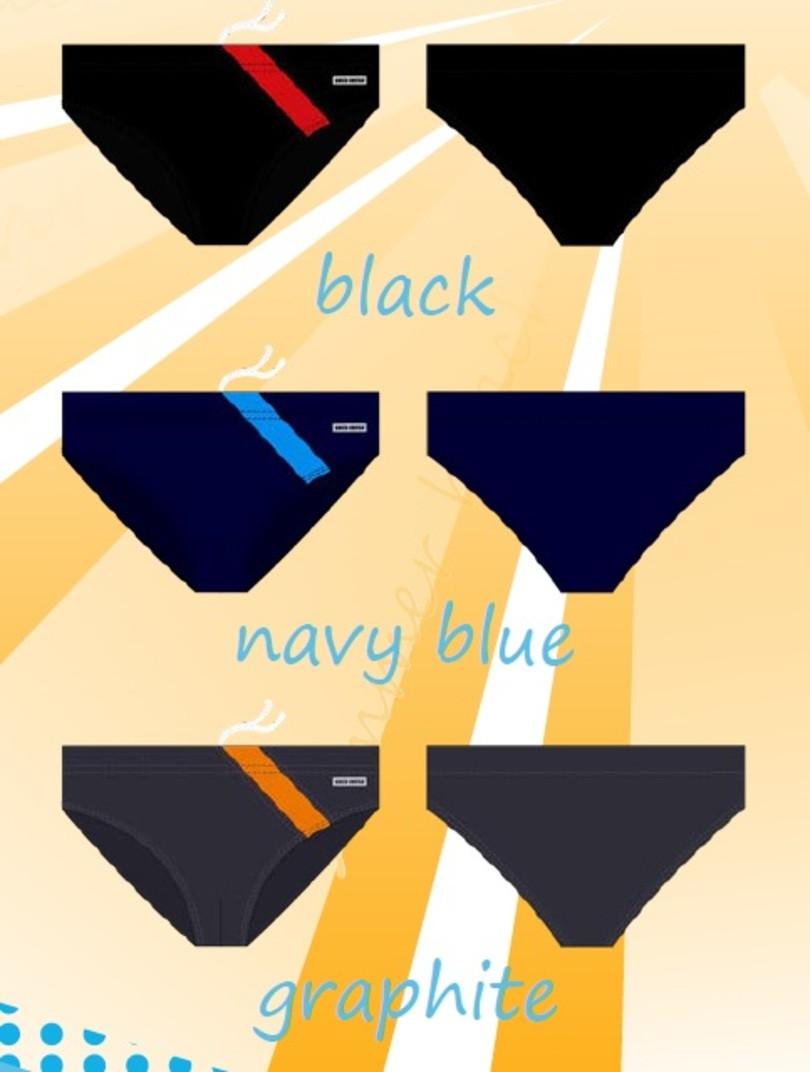 Pánské plavky SESTO SENSO - SESTO SENSO černá M