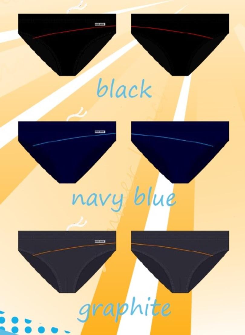 Pánské plavky SESTO SENSO - SESTO SENSO tmavě modrá M
