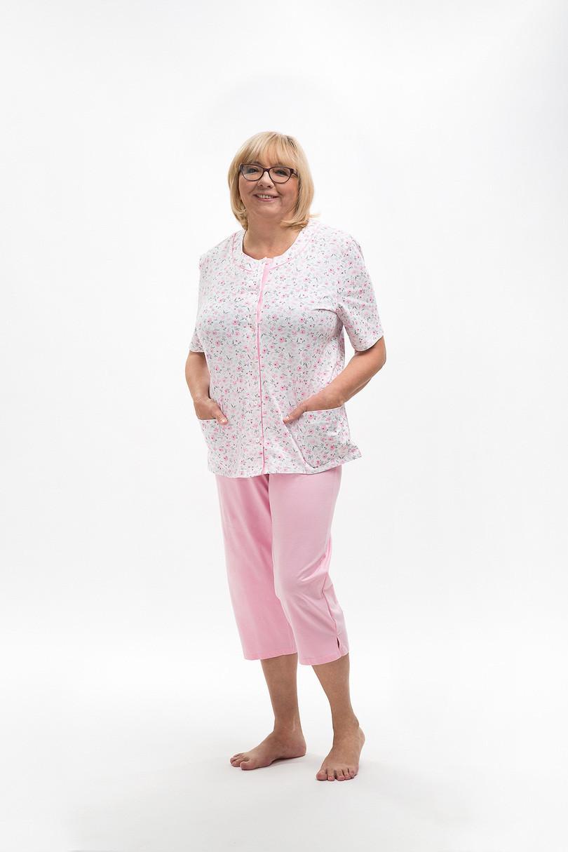 Dámske pyžamo 200 MARIA růžová XXL
