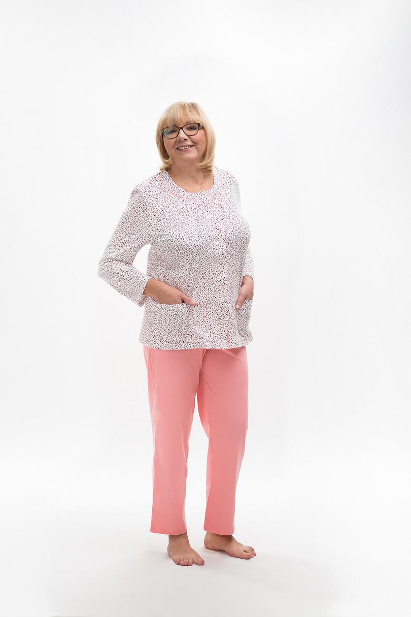 Dámske pyžamo 202 MARIA růžová L