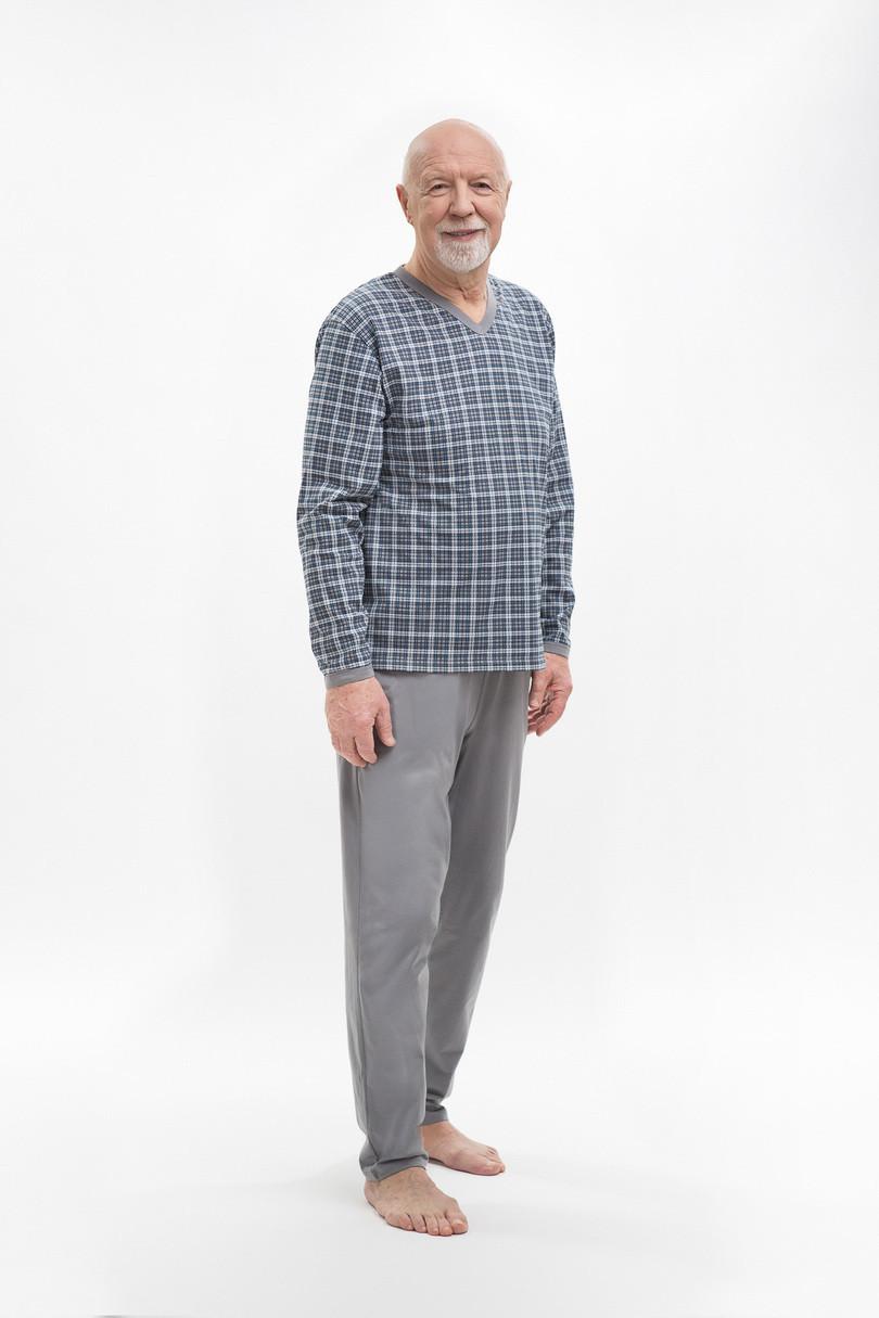 Pánske pyžamo 402 ROMAN GREYRED 2XL