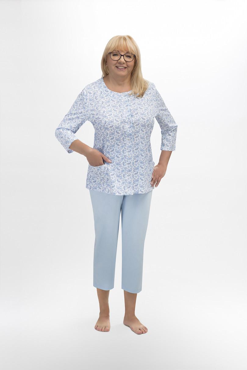 Dámske pyžamo 201 MARIA modrá L