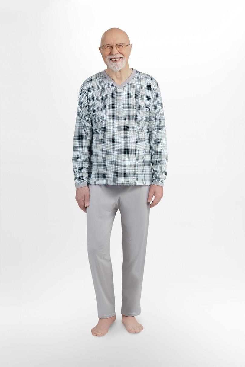 Pánske pyžamo 402 ROMAN GREYRED XL
