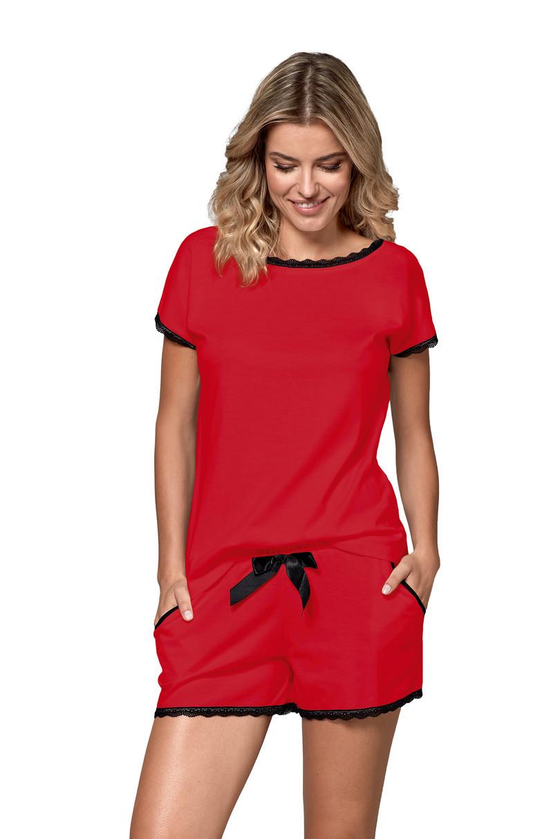 Dámské pyžamo MARGOT CZERWONY XL