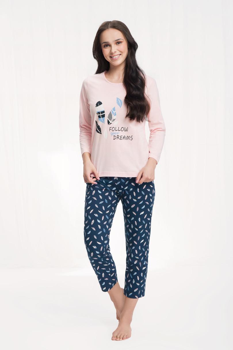 Dámske pyžamo 612 Růžová XL