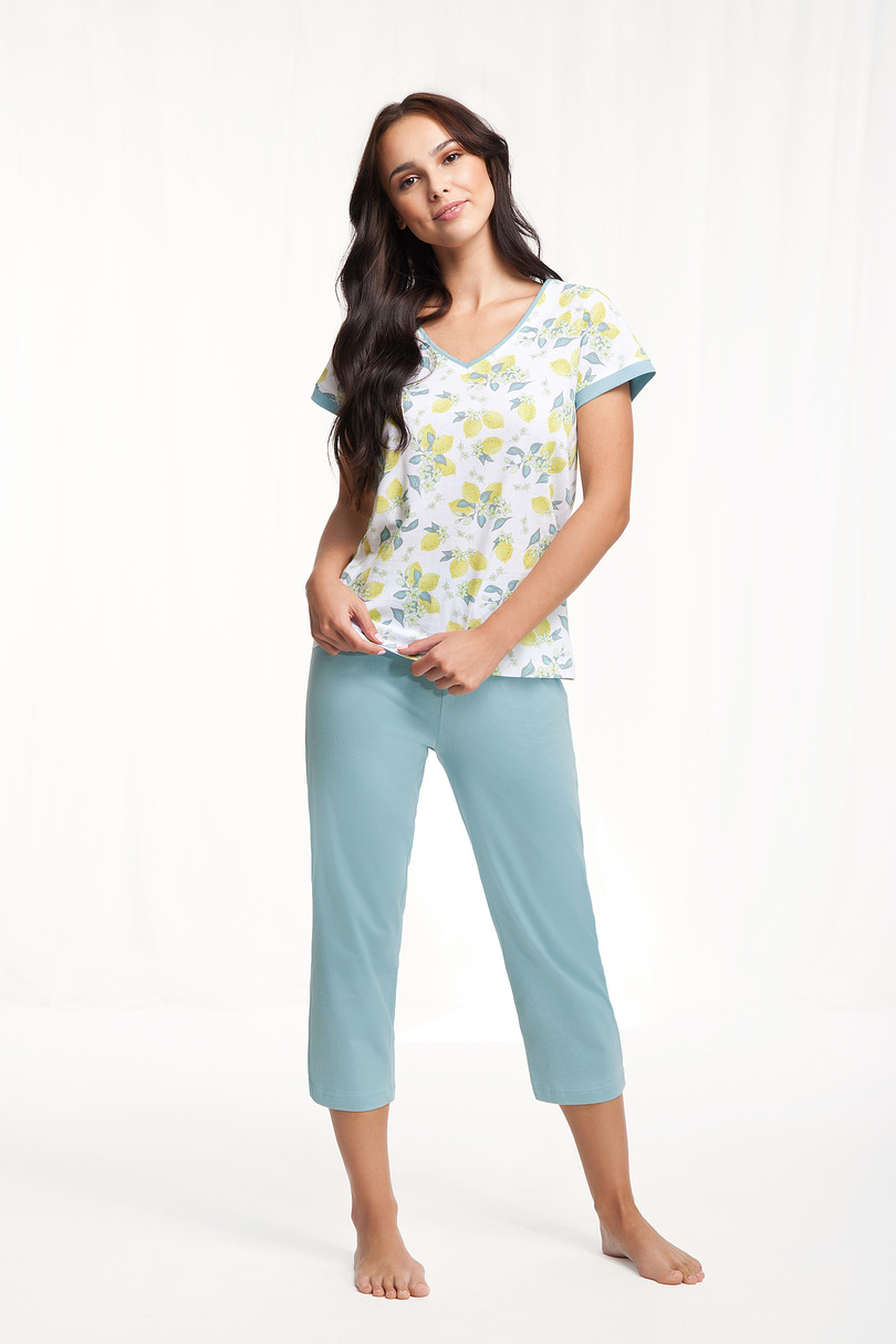 Dámske pyžamo 631 citróny M