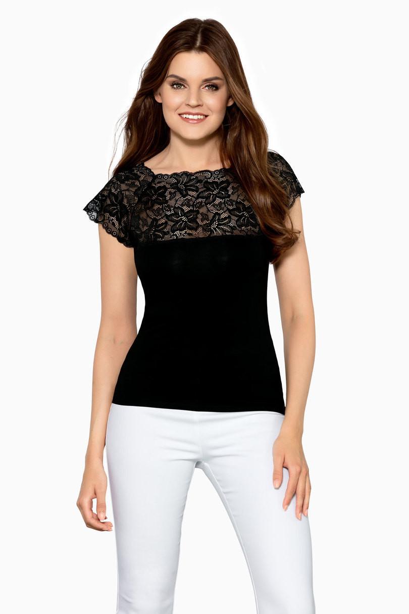Dámská košilka ELINA - BABELL černá 2XL