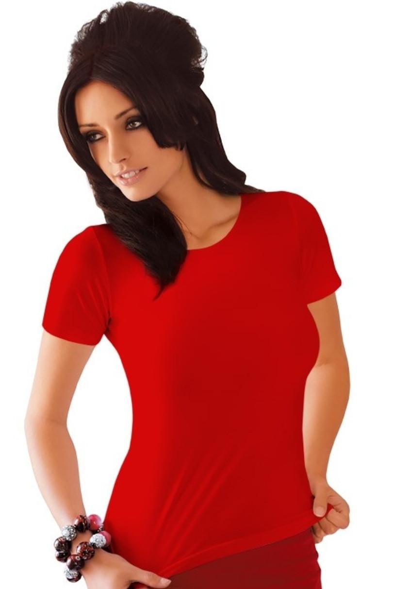 Dámské tričko CARLA - BABELL bílá M